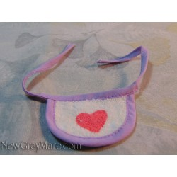 Baby Bib- Purple