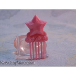 Star Comb- Pearly Pink